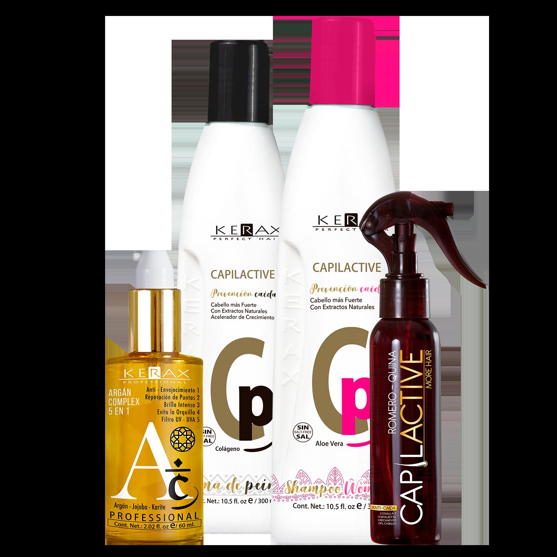 Kit Capilactive Mujer + Argán Complex